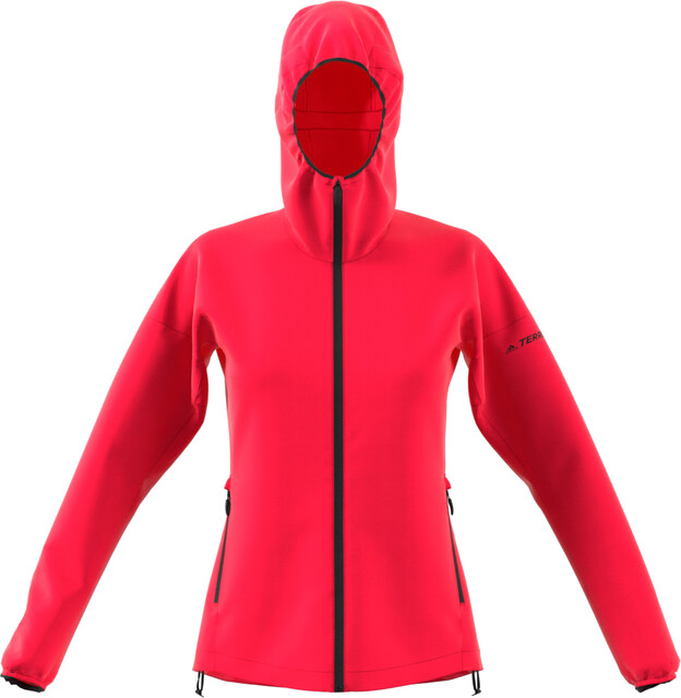 adidas TERREX Agravic Windweave Jacket Damen active pink  Kostenloser Versand